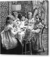 Tea Party, C1902 Canvas Print