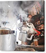 Tea Seller Canvas Print