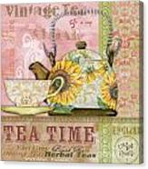 Tea Time-jp2579 Canvas Print