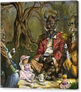Tea With The Ogres Canvas Print