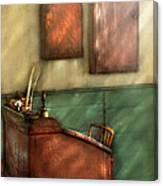 Teacher - The Teachers Desk Canvas Print