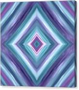 Teal One Diamond Dreams Canvas Print