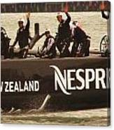 Team New Zealand Canvas Print