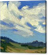 Teanaway Passing Clouds Canvas Print