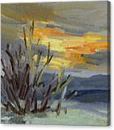 Teanaway Valley Winter Canvas Print