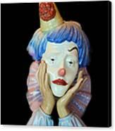 Tears Of A Clown Canvas Print