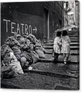 Teatro Canvas Print