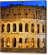 Teatro Di Marcello Canvas Print