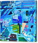 Techno Cool Canvas Print