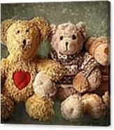 Teddies Canvas Print