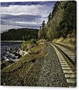 Teddy Bear Cove Railway Canvas Print