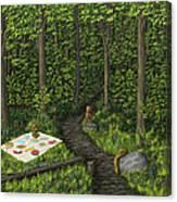 Teddy Bears' Picnic Canvas Print