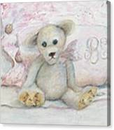 Teddy Friend Canvas Print