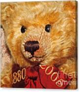 Teddy's Anniversary Canvas Print