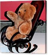 Teddy's Chair - Toy - Children Canvas Print