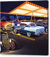 Teds Drive-in Canvas Print
