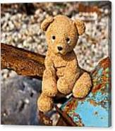 Ted's On The Rust Pile Canvas Print