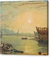 Teignmouth - Devonshire Canvas Print