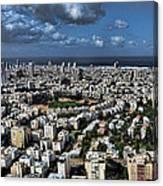Tel Aviv Center Canvas Print
