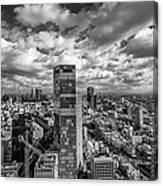 Tel Aviv High And Above Canvas Print