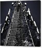 Telecommunications Tower Canvas Print