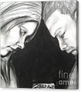 Telepath Canvas Print