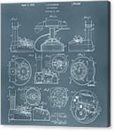Telephone Patent Canvas Print