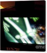 Television And Light  Canvas Print