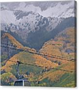 Telluride Winter Over Fall Canvas Print