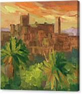 Telouet Kasbah Canvas Print