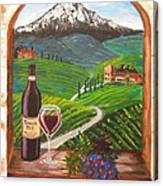 Temecula Red Canvas Print