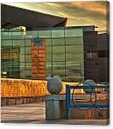 Tempe Center For The Arts Sunset Canvas Print