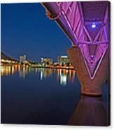 Tempe Light Rail Bridge Canvas Print