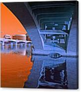 Tempe Town Lake Bridges Canvas Print