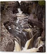 Temperance River Scene 1 Canvas Print