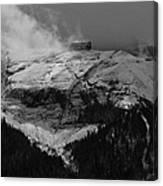 Tempest On Teapot Mountain Canvas Print