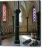 Templar Knights Temple Church London Canvas Print