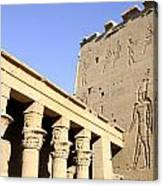 Temple At Philae In Egypt Canvas Print