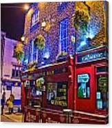 The Temple Bar Pub Dublin Ireland Canvas Print