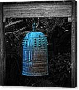 Temple Bell - Buddhist Photography By William Patrick And Sharon Cummings  Canvas Print