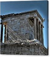 Temple Of Athena Nike Canvas Print