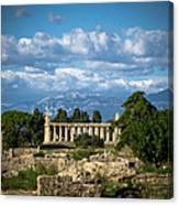Temple Of Athena Canvas Print
