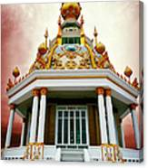Temple Of Dramatic Art Canvas Print