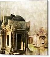 Temple Of Preah Vihear Canvas Print