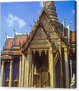 Temple Of The Emerald Buddha Canvas Print