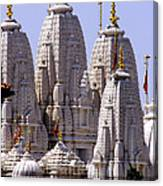 Temple Towers Canvas Print