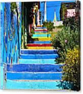 Templeman Street Valparaiso Chile Canvas Print