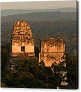 Temples 1 And 2 -  #3 Canvas Print