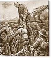 Temporary Major S.w. Loudoun-shand Canvas Print