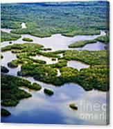 Ten Thousand Islands 2  Canvas Print